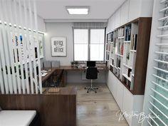 Návrh interiéru pracovne Keď práca teší, pohľad od vstupu Divider, Study, Furniture, Home Decor, Homemade Home Decor, Studio, Home Furnishings, Learning, Research