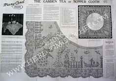Heirloom Crochet - Vintage Crochet Patterns and Instructions - Mary Card Charts