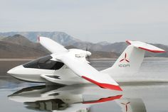 The ICON amphibious plane.
