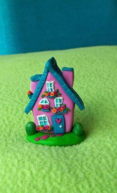 fimo cute romantic house