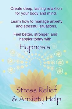 Reduce stress and anxiety with the soothing help of hypnosis. You have the power to create calm and peace whenever you need it, and deeply relax your body and mind.<p>Don't let worry or stress get in the way of enjoying your life and living each moment to its fullest. With this hypnosis app from Rachael Meddows, positive suggestions for change will be received by your mind, deeply relaxing you and helping you deal with what triggers stress in a healthy way. <p>It's time to take control of…