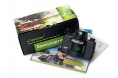 Get ultra-wide panoramic pictures with glowing colors on regular 35mm film with the Horizon Kompakt.