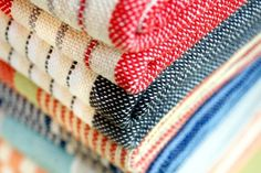 Linen Cotton Day Blanket from Brahms Mount. Beautifully crafted lightweight blankets made in Maine.