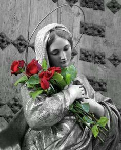 Beautiful, Blessed virgin Mary....