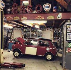 Mini Cooper Garage