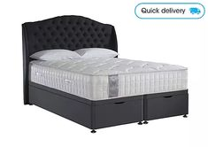 We have a huge selection of beds, in a choice of styles and sizes from famous brands. Choose from ottomans, divans or statement bed frames. King Size Divan Bed, King Size Bed Frame, Wooden King Size Bed, Divan Sets, Furniture Village, Design Your Bedroom, Ottoman Bed, Comfort Mattress, Bedroom Styles