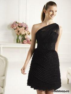 Коолекция вечерних платьев Fiesta 2013 от Pronovias / вечерние короткие платья…