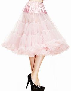 Hell Bunny Petticoat Long Dolly Pink £34.99