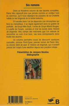 Les Intégrales du Masque - Pierre Véry - Volume 3 - Verso - Décembre 1997