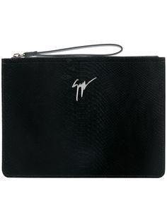 Marcel clutch bag - Black Giuseppe Zanotti Outlet Best Wholesale ZqvUO4