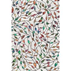 """24 x 36"""" Artscape Leaf Window Film UV Protection Surface Covering Home Decor New #ARTSCAPE"""