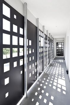 Hotel Caldor_ Self-Check-In @ Seedörfl, Austria - 2007 by Söhne&Partner architects Corten Steel, Light And Shadow, Home Projects, Facade, Architecture Design, Doors, Architects, Building, Austria