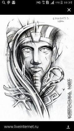 Egyptian tattoo art #filipinotattoosforearm #filipinotattoosideas