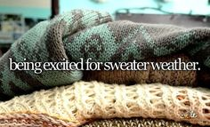 """Except the weather can't seem to make up its mind. In the morning it's perfect """"sweater weather"""" and by midday you're about to die of heatstroke...."""