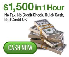 Requirements for Cash Advance