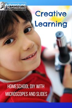 Creative Learning with Microscopes and Slides – DIY Homeschool Project Frugal Family, Entertainment Ideas, Field Trips, Raising Kids, Diy Christmas, Curriculum, Homeschooling, School Ideas, Exploring