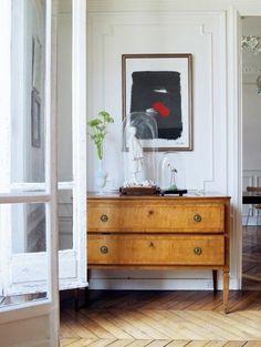 Erin Featherston's Paris apartment via Domino Magazine.