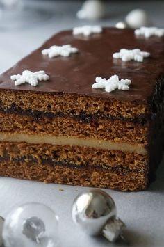 najlepszy piernik dojrzewający Polish Desserts, Polish Recipes, Sweet Recipes, Cake Recipes, Dessert Recipes, Holiday Desserts, No Bake Desserts, Polish Cake Recipe, Pineapple Coconut Bread