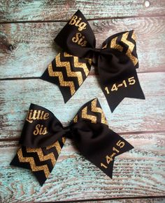 Big Sis Little Sis Sorority Sister Gifts by PoshPrincessBows1                                                                                                                                                                                 More