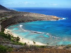 A great place to snorkel, but please be careful of the coral reefs...they are living! Hanauma Bay ~ Oahu, Hawaii