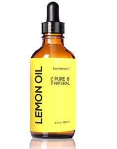 Our 100% pure, cold-pressed oil is made from real lemons and comes with a free glass dropper. Blends well with other oils!