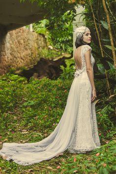 Wedding dress lace Renaissance Model Belle by Luanakeylla on Etsy