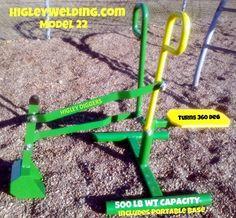 2013 Ride On Sandbox Digger Backhoe  www.HigleyMetals.com