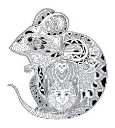 Adult Coloring Book Pages Animals Best Of Free Coloring Page Coloring Adult Animals Mouse Drawing Colouring Sheets For Adults, Coloring Pages For Grown Ups, Adult Coloring Book Pages, Printable Adult Coloring Pages, Animal Coloring Pages, Free Coloring Pages, Coloring Sheets, Coloring Books, Mandalas Painting