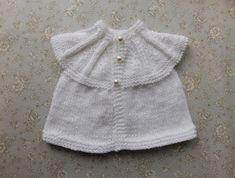 EVIE Baby or Baby Doll All-in-One Tops (marianna's lazy daisy days) Baby Cardigan Knitting Pattern Free, Knitting Stiches, Baby Knitting Patterns, Baby Patterns, Knitting Ideas, Stitch Patterns, Crochet Patterns, Doll Clothes Patterns, Clothing Patterns