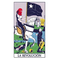 """385 Me gusta, 11 comentarios - Geni RIot (@geni.riot) en Instagram: """"Esta vez me base en la carta de la muerte, y la reinterprete como la revolución. En general se le…"""" Ed Edd N Eddy, Demon Art, World Problems, Power To The People, Lone Wolf, Arte Pop, Chile, Hug, Rise Against"""