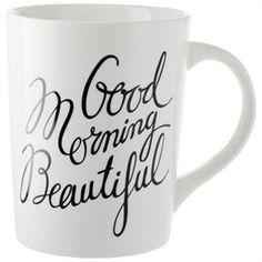 Good Morning Beautiful Mug by Indigo | Mugs Gifts | chapters.indigo.ca