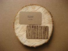 Unique Business Card, Lumberjack #businesscards #design (http://www.pinterest.com/aldenchong/)