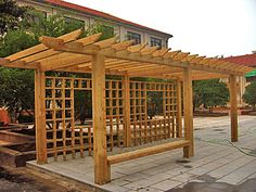 Outdoor arbor material low-cost wholesale