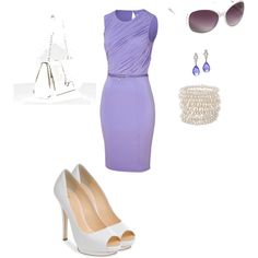 Great outfit for a summer wedding or graduation