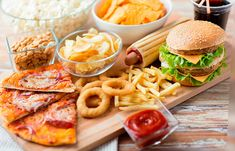 Not all high-cholesterol foods are bad, but many are. Here are the top seven high-cholesterol foods to avoid, along with three you can eat safely. High Cholesterol Foods, Cholesterol Levels, Cholesterol Symptoms, Western Diet, Fast Food Restaurant, Foods To Avoid, Vegan Fast Food, Junk Food, Food Food