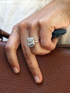 Pippa S Engagement Ring A Whopping Four Carat Cher Cut Diamond In An Octagonal Halo Cost Estimated