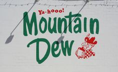 The Mountain Dew sign is in Marysville, KS, at the Pepsi distributor building on U.S. 36. Photo by Neil Croxton