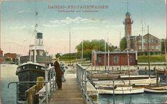 Wolne Forum Gdańsk :: Zobacz temat - Nowy Port / Neufahrwasser Danzig, Prussia, Old Postcards, Ghosts, Paris Skyline, Germany, Ocean, Island, Travel