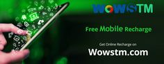 Don't waste your valuable time and recharge your mobile online through wowstm.com & avail the benefits!! #onlinerecharge, #mobilerecharge, #phonerecharge, #fastrecharge, #erecharge, #quickrecharge
