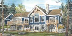 """Cottage Plans   Normerica Cottage Design """"The Addington 3472"""""""
