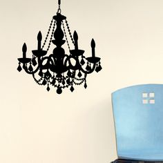 19 best chandelier decal images on pinterest chandeliers chain chandelier decal by dormify aloadofball Choice Image
