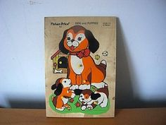 Fisher Price Dog and Puppies Puzzle