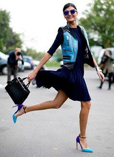 Contributing fashion editor at W magazine Site: Giovanna Battaglia Instagram: @bat_gio