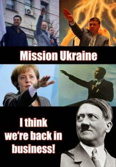 Halbpfosten oder doch Vollpfosten?:   Mission Ukraine