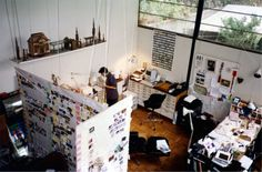 The studio at the Eames House