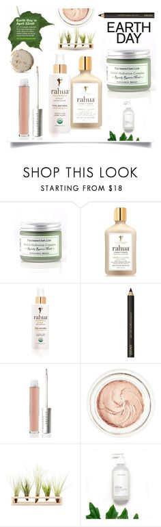 """""""Eco Friendly Beauty"""" by queenofsienna ❤ liked on Polyvore featuring beauty, Farmaesthetics, Space NK, RAHUA, Vapour Organic Beauty, rms beauty and Hinterland"""