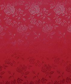 Burgundy Jacquard Satin Fabric - $3.9 | onlinefabricstore.net