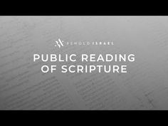 Public Reading of Scripture - YouTube 1 John, The Creator, Public, Reading, Youtube, Word Reading, The Reader, Youtube Movies