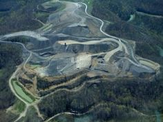 Mountain top removal mining in Tennessee