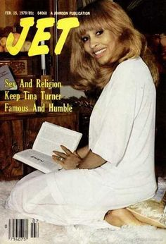 Tina Turner on the cover of Jet magazine, February 1979.